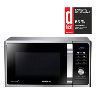 MWF300G Mikrovlnná trouba solo  s programy Healthy cooking, 23 l