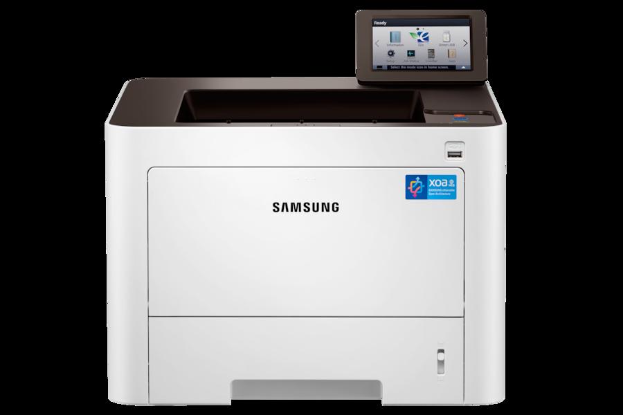ProXpress M4025NX  Černobílá Laserová tiskárna (40 ppm) M4025NX Zepředu Bílá