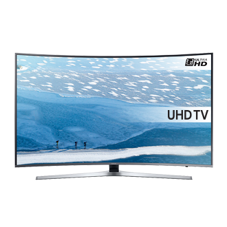 55 UHD 4K Prohnutá Smart TV UE55KU6652U Série 6