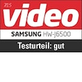 Video, gut (73%), 07/2015, zum HW-J6500, im Test: 7 Soundbars, 7x gut.