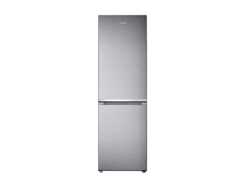 Kleiner Kühlschrank Edelstahl : Kühl gefrierkombination premium edelstahl look cm l