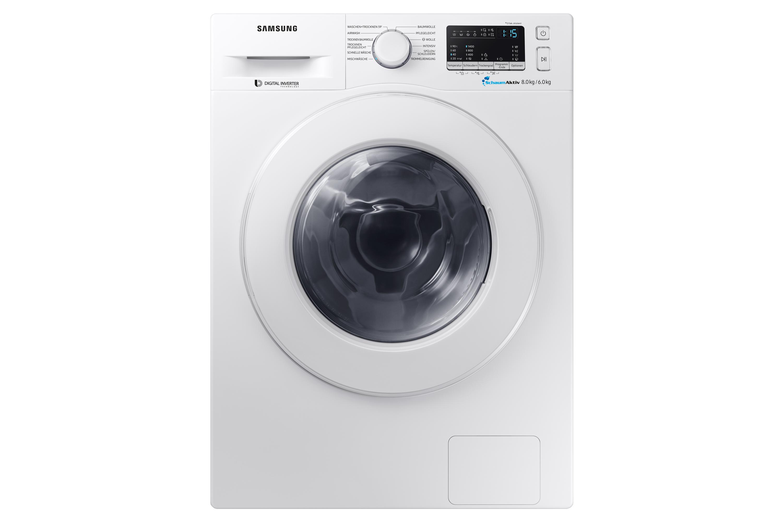 WD80M4433IW/EG, WD4000, Waschtrockner, SchaumAktiv, 8 + 6 kg