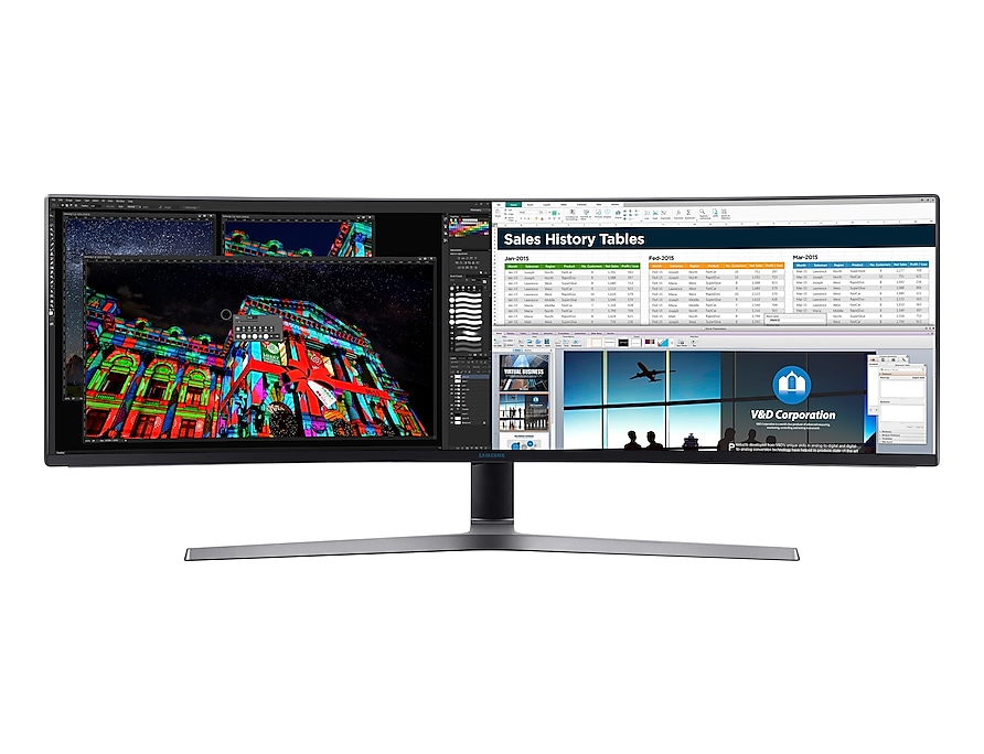 CHG90: 49 Zoll Curved-Gaming Monitor