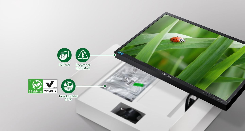 Umweltfreundliche Materialien für eine bessere Umwelt.