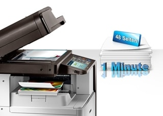 Cut job times with fast scanning and printing