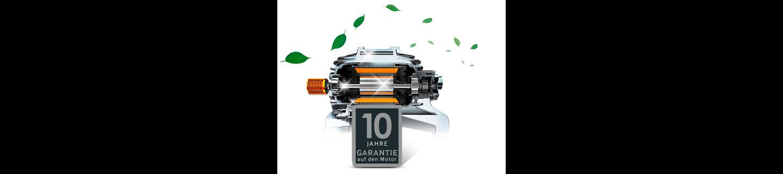 Digital Inverter Motor mit 10 Jahren Garantie - Langlebig, sparsam und leistungsstark