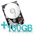 Optionale Festplatte