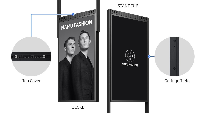 Flexibles Design für moderne Geschäftsräume