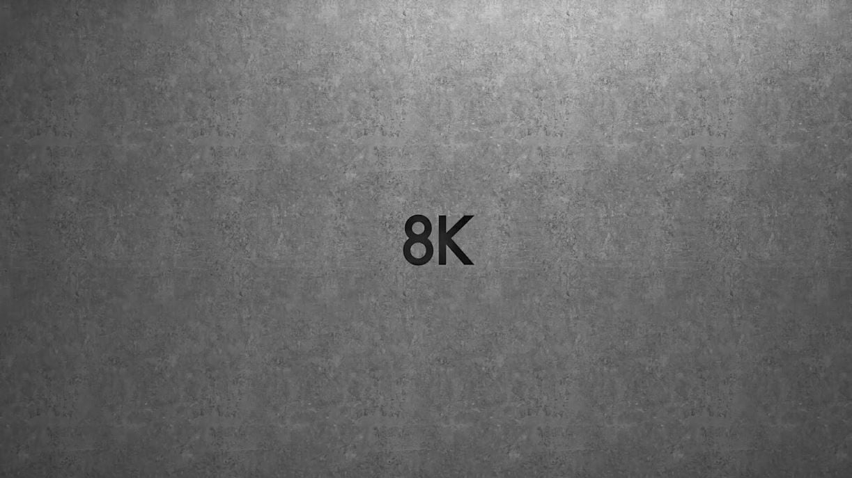 Fall into the real 8K resolution