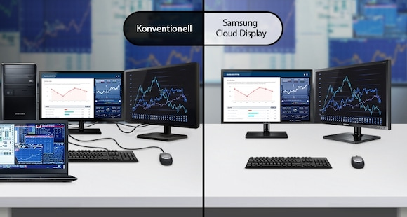 All-In-One Thin-Client-Display mit IGEL Thin-Client-Software