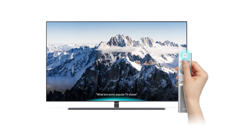 GQ75Q9F: 75-Zoll-Fernseher mit QLED  Samsung DE