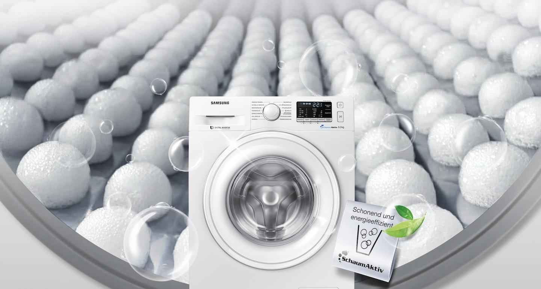 SchaumAktiv – schonend und energieeffizient Waschen
