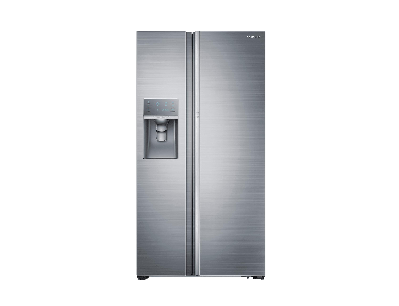 Amerikanischer Kühlschrank Tiefe 60 Cm : Food show case side by side kühlschrank edelstahl cm l
