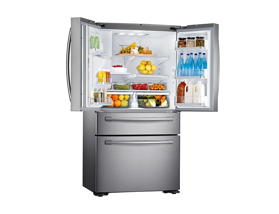 Side By Side Kühlschrank Sprudelwasser : Rf24hsesbsr: kühlschrank mit french door samsung de