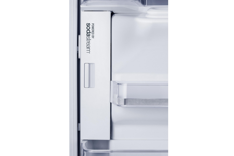 Side By Side Kühlschrank Sprudelwasser : Rf hsesbsr kühlschrank mit french door samsung de
