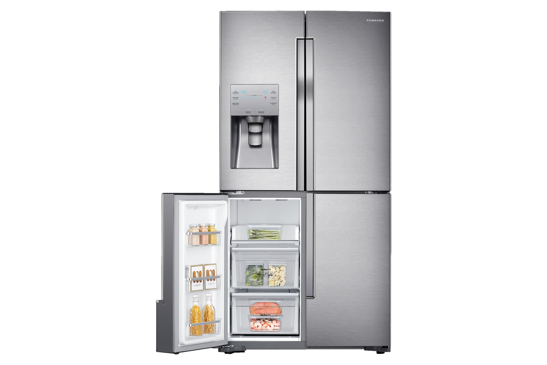 Amerikanischer Kühlschrank Mit Weinfach : Rf j sr kühlschrank mit french door samsung de