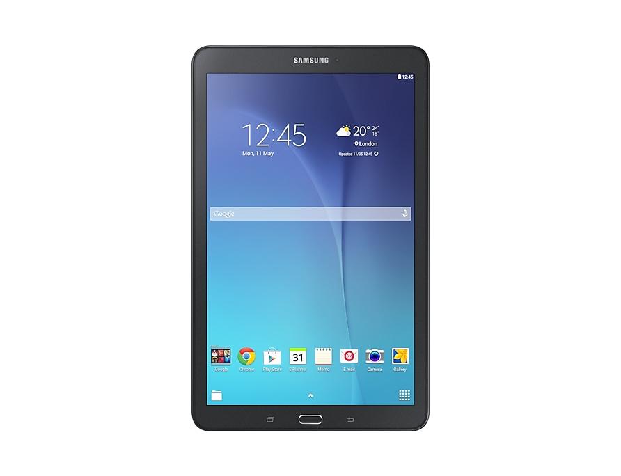 Galaxy Tab E 9 6 Wi Fi Schwarz Samsung De