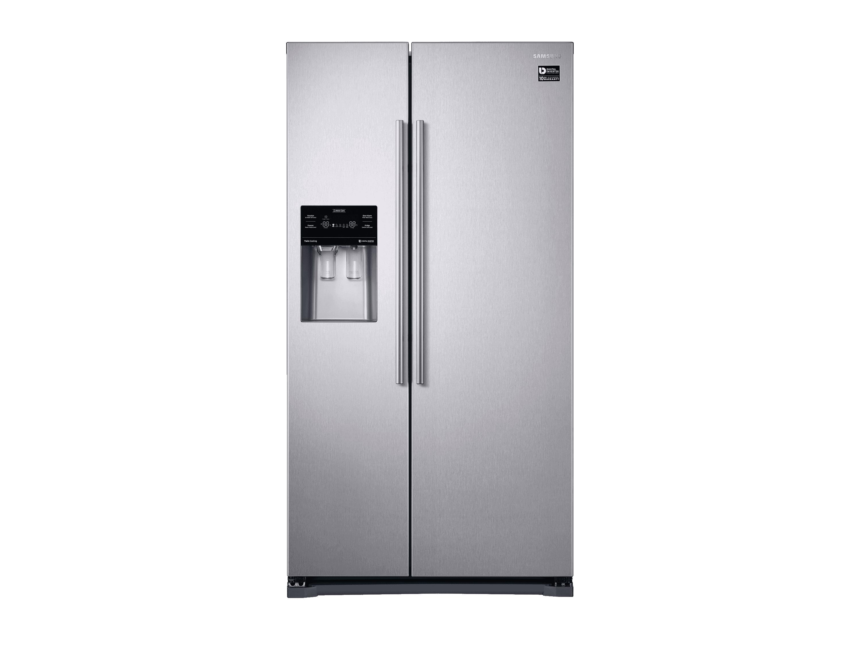 Amerikanischer Kühlschrank Edelstahl : Side by side kühlschrank edelstahl look cm l samsung de