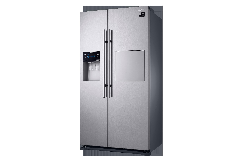 Aeg Kühlschrank Mit Gefrierfach Abtauen : Side by side kühlschrank edelstahl look cm l