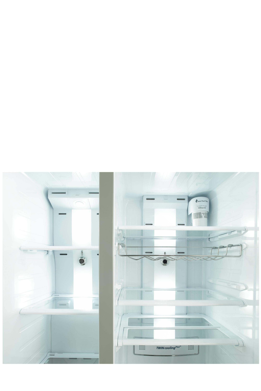 Side By Side Kühlschrank Liegend Transportieren : Side by side kühlschrank rs space max cm l samsung de