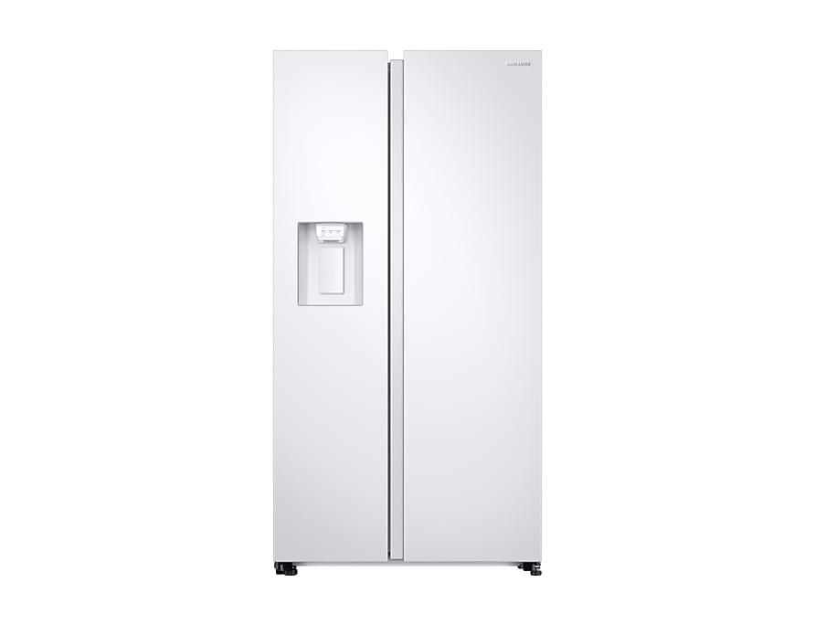 Amerikanischer Kühlschrank Vorteile : Rs68n8231ww: kühlschrank mit side by side tür samsung de