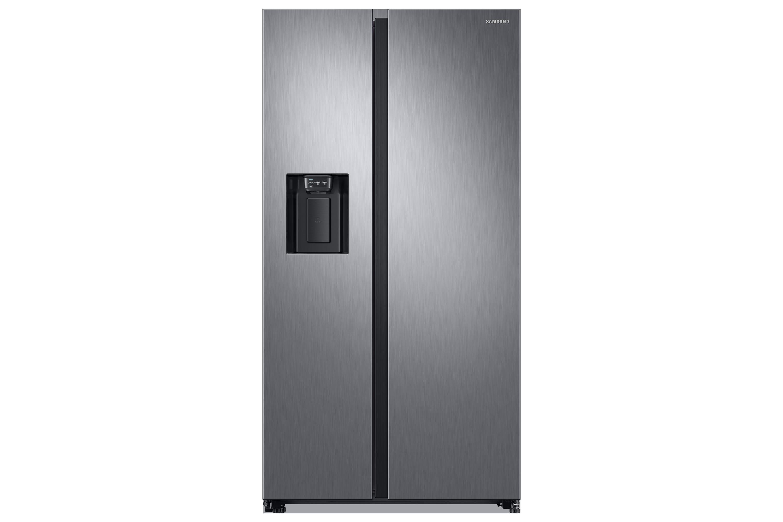 Side By Side Kühlschrank Direkt An Wand : Rs gn s kühlschrank mit side by side tür samsung de