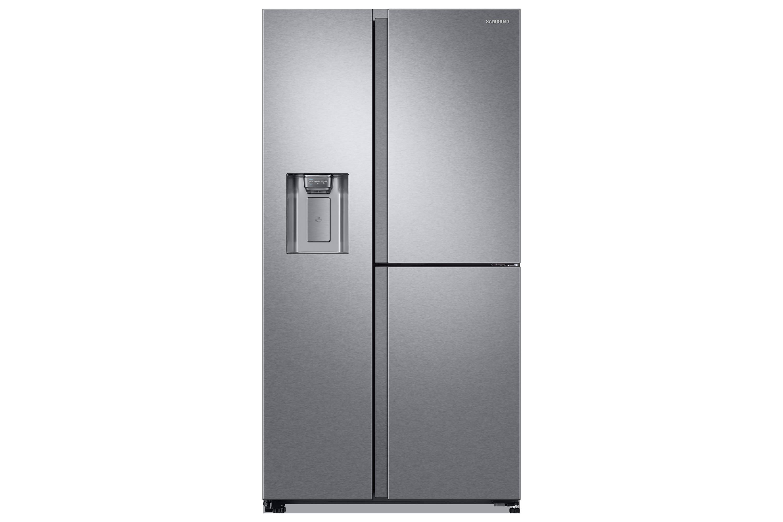 Amerikanischer Kühlschrank Bilder : Rs gn sl kühlschrank mit side by side tür samsung de