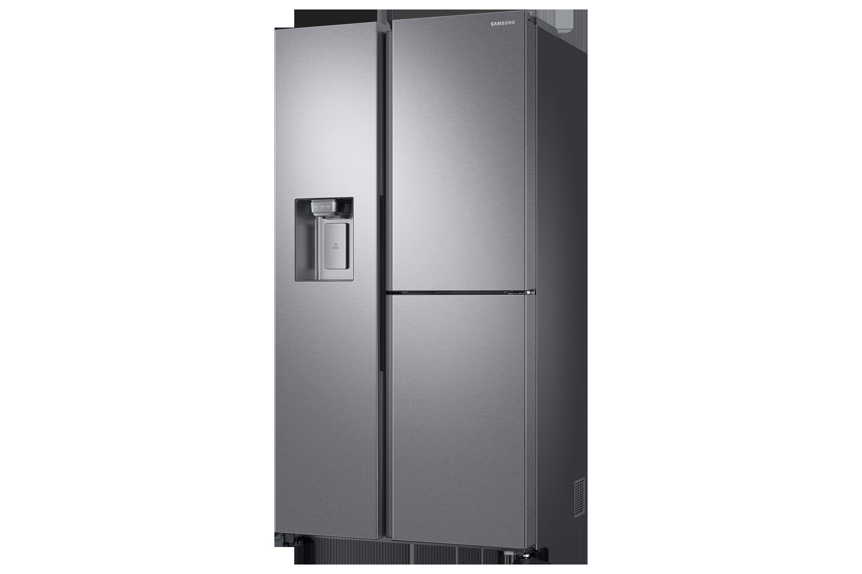 Kleiner Kühlschrank Eiswürfelspender : Side by side kühlschrank premium edelstahl look cm l