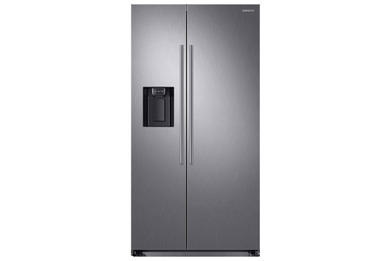 Amerikanischer Kühlschrank Side By Side : Rs jn s kühlschrank mit side by side tür samsung de