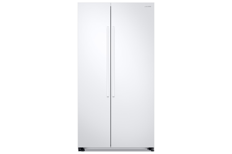 Side By Side Kühlschrank Weiss : Rs kn ww kühlschrank mit side by side tür samsung de