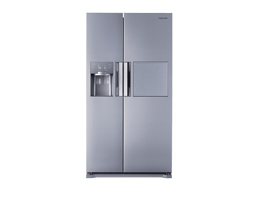 Amerikanischer Kühlschrank Mit Fernseher : 77 side by side kühlschrank edelstahl optik 179cm 543l samsung de