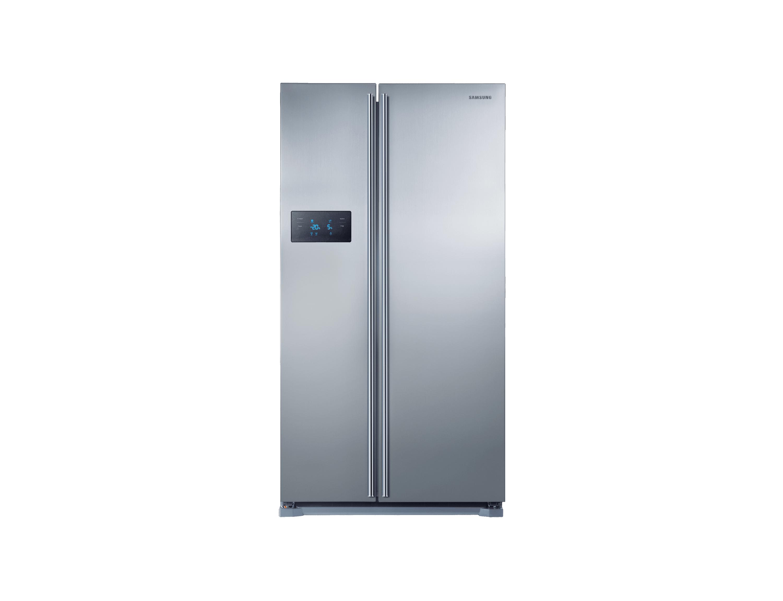 Amerikanischer Kühlschrank Mit Fernseher : Rs7j28bhcsl eg hm12 75 side by side edelstahl look 179 cm 572 ℓ