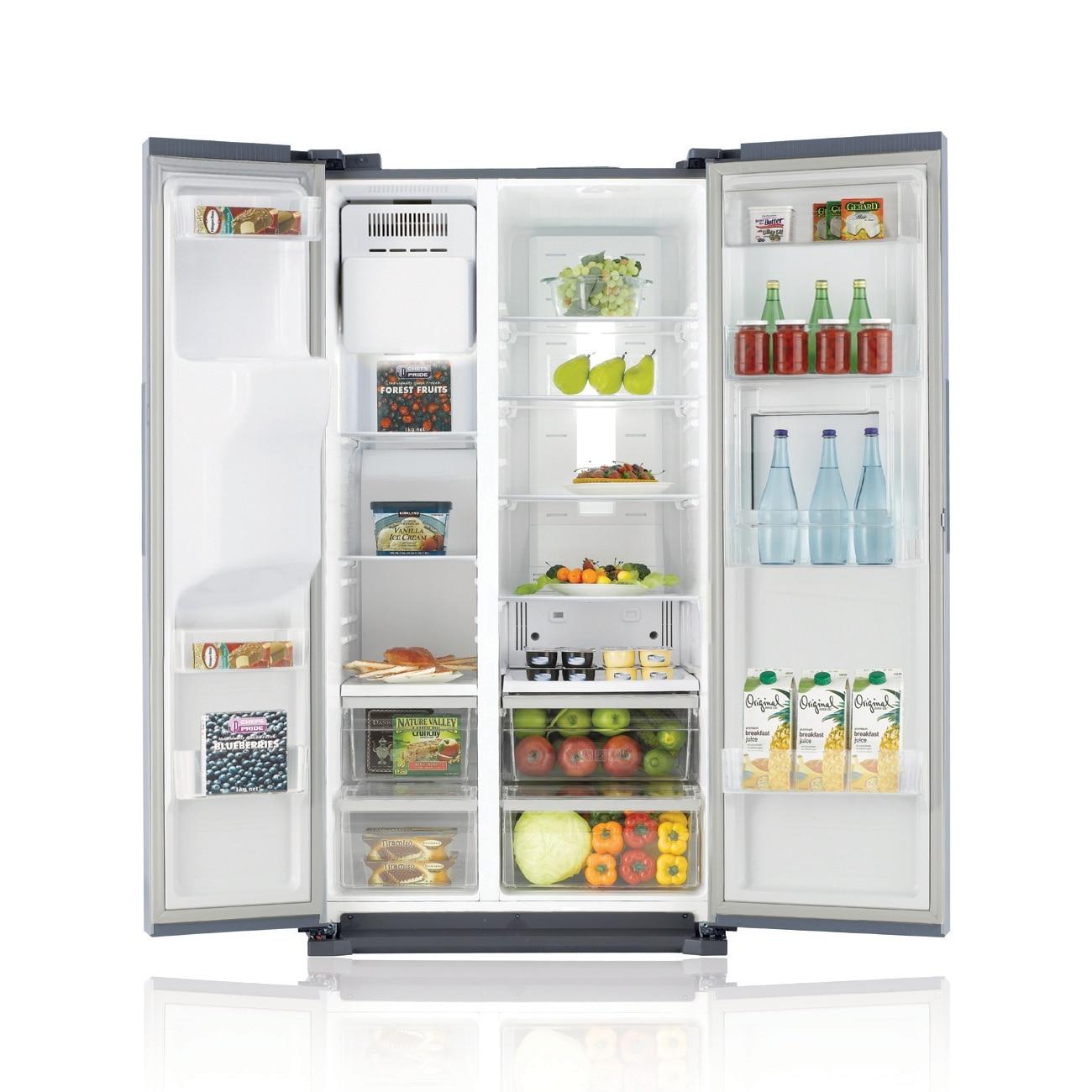 Side By Side Kühlschrank Anschließen : Lg gsl icez side by side kühlschrank eis crushed ice und