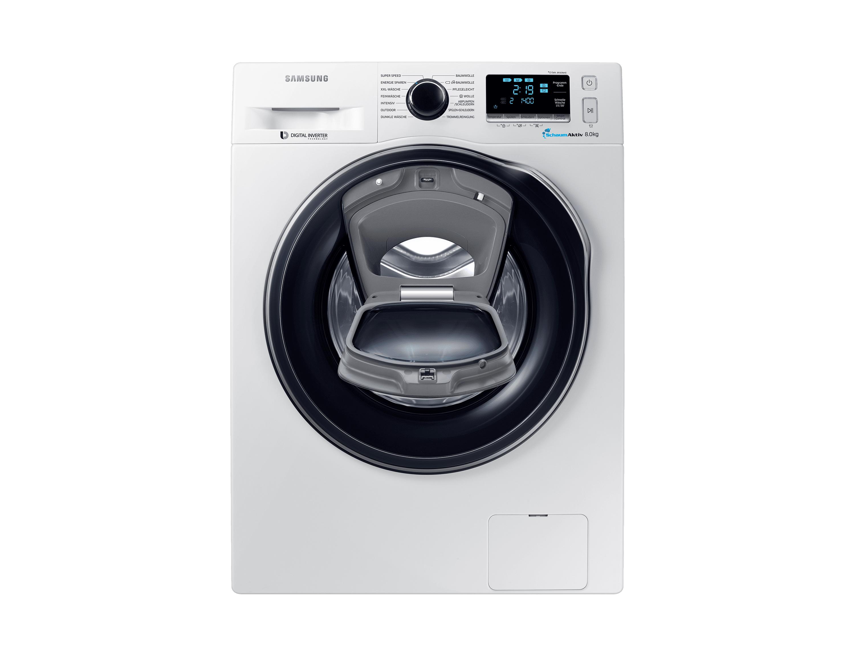 WW8EK6404QW/EG, WW6500, Waschmaschine, AddWashTM, 8 kg