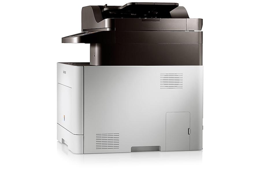 CLX-6260FW Rechter Betrachtungswinkel Weiß