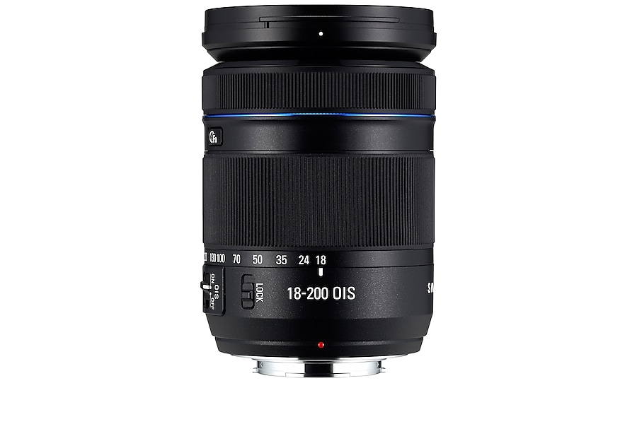 18-200 mm F3,5 – 6,3 ED OIS Super Zoom-Objektiv