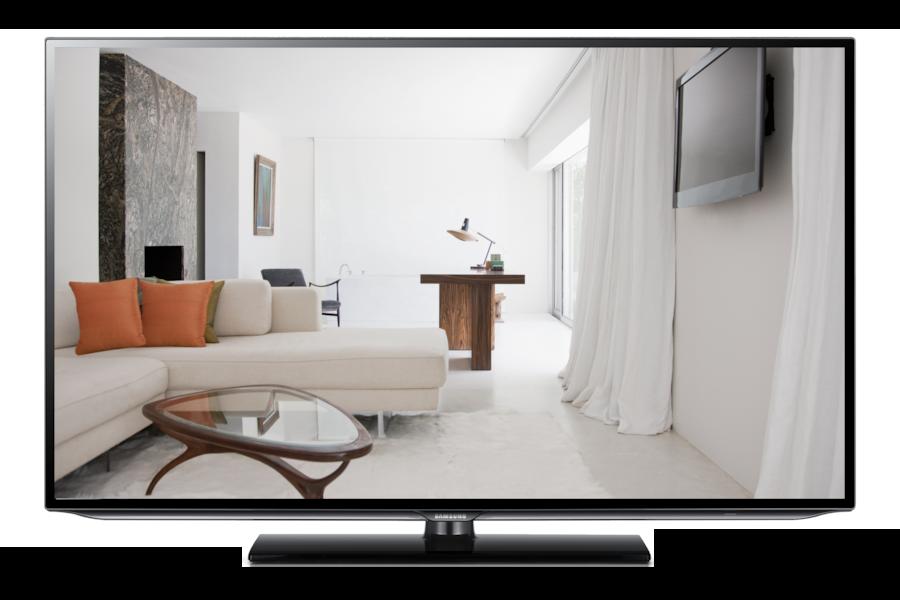Hospitality Display 26HA470 HG26EA470PW Vorderseite Schwarz