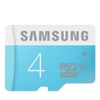 microSD-Speicherkarte Standard 4 GB