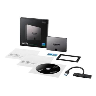 MZ-7TE250 SSD 840 EVO 2,5 Zoll SATA 250 GB (Laptop Kit)
