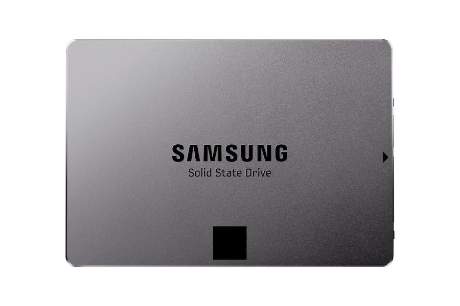 840 EVO SATA III  2,5 Zoll 500 GB  SSD  7TE500 Vorderseite Schwarz