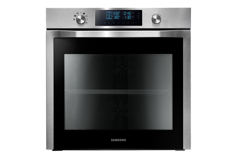 NV3000F Elektroherd  mit Dual Cooking (Twin Heißluft), 70 l