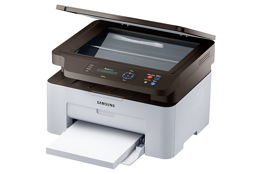 SL-M2070 R Perspective Scanner Tray Open Grau