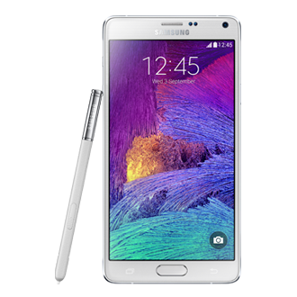 SM-N910F GALAXY Note 4 White