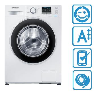 WF70F5ECQ4W/EG 7 kg, 1.400 U/min Waschmaschine WF70F5EC