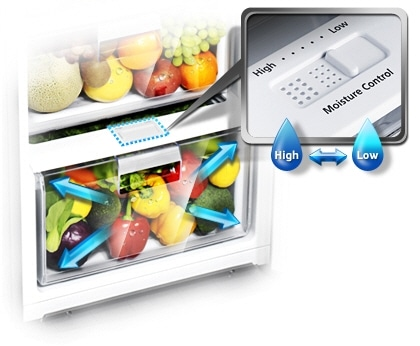 A fresher way to store fruits and vegetables