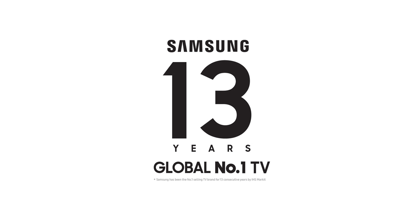 13 years no 1 TV