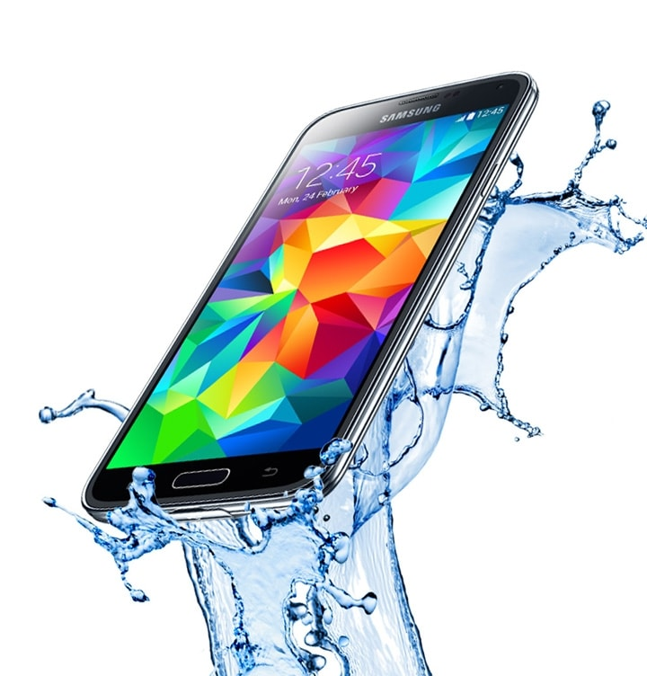 Maintain Galaxy S5 Water Resistance
