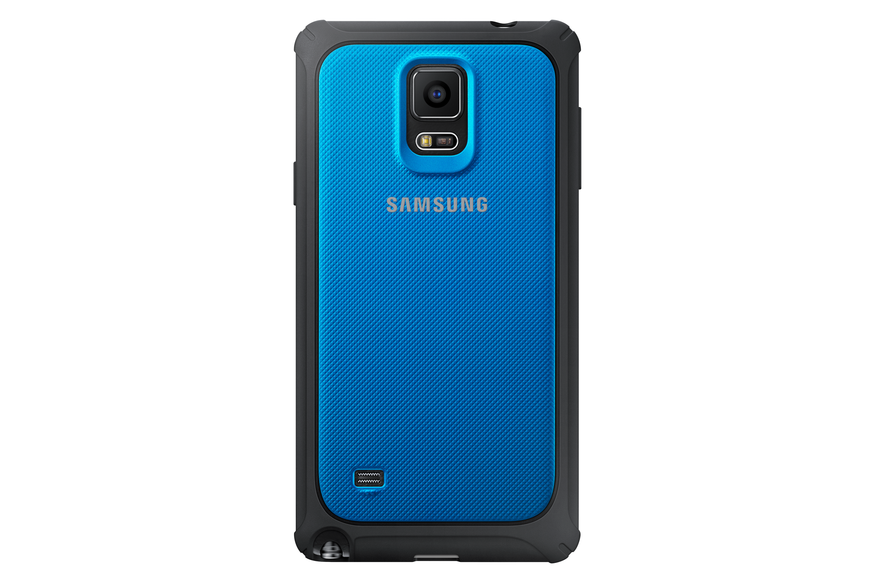Protective Cover (blå) - Galaxy Note 4