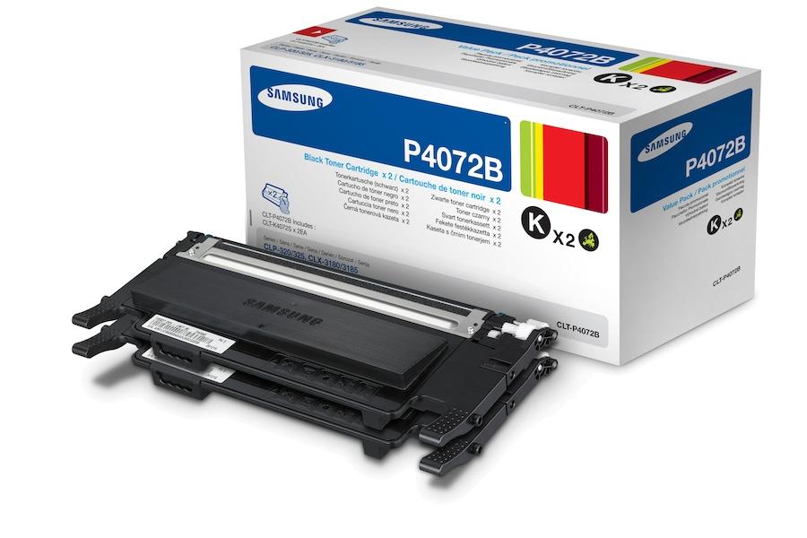Økonomipakke 2 x sort lasertoner CLT-P4072B  P4072B Dynamisk