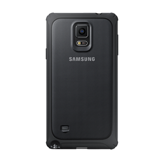 Protective Cover (Silver) - Galaxy Note 4